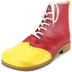 Wing Tip Clown (Red/Yellow) Adult Shoes 100-134690