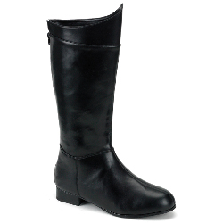 Super Hero (Black) Adult Boots 100-134703