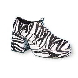 Zebra Platform Adult Shoes 100-134727