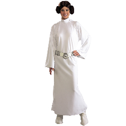 Star Wars  Princess Leia Deluxe Adult Costume 100-135681
