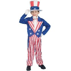 Uncle Sam Child Costume 100-140555