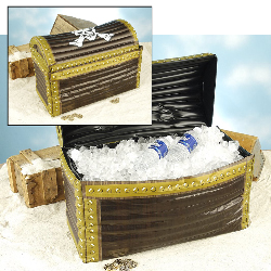 Pirate Inflatable Treasure Chest   100-140536
