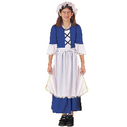 Little Colonial Miss Child Costume 100-140552