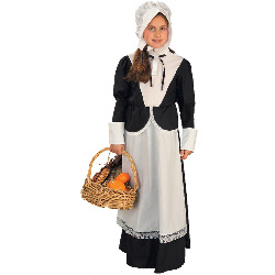 Pilgrim Girl  Child Costume 100-140589