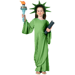 Statue of Liberty Child Costume 100-138812