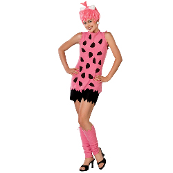 The Flintstones  Pebbles Deluxe Adult 100-138841