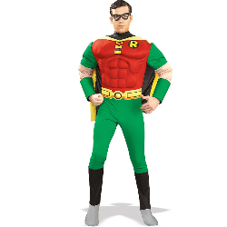 DC Comics Robin Muscle Chest  Adult 100-139099