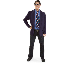 Reversible Clark Kent/Superman Adult 100-139136