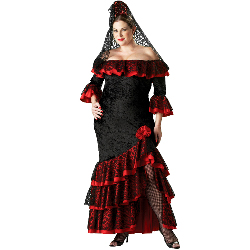 Senorita Elite Collection Adult Plus Costume 100-139926
