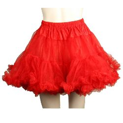 Layered Tulle (Red) Adult Petticoat  100-144765