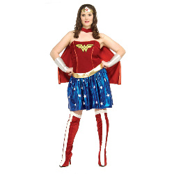Wonder Woman Adult Plus 100-145023