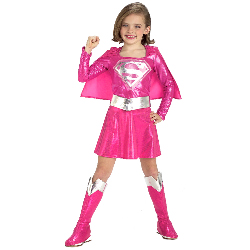 Pink Supergirl Toddler/Child Costume 100-145092