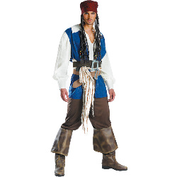 Captain Jack Sparrow Adult Costume 100-145389