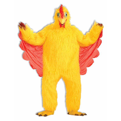 Comical Chicken  Adult Costume 100-101572