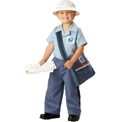 Mr. Postman Toddler Costume 100-145809