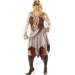 South Seas Siren Adult Plus Costume 100-145904