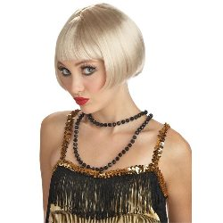 Flirty Flapper Wig - Blonde 100-145930