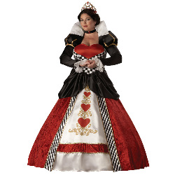 Queen of Hearts Elite Collection Adult Plus Costume 100-146167