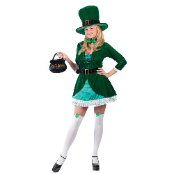Luscious Leprechaun Adult Costume 100-145539