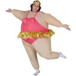 Inflatable Ballerina  Adult Costume 100-146355