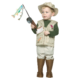 Future Fisherman Toddler Costume 100-149114