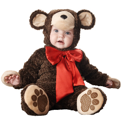 Lil' Teddy Bear Elite Collection Infant / Toddler Costume 100-151931