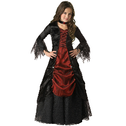 Gothic Vampira Elite Collection Child Costume 100-151956