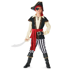 Pirate Scoundrel Elite Collection Child Costume 100-151965