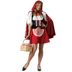 Red Riding Hood Elite Collection Adult Costume 100-152030