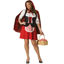 Red Riding Hood Elite Collection Adult Plus Costume 100-152057