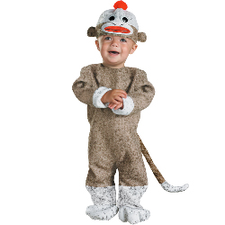 Sock Monkey Infant Costume 100-150620