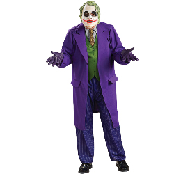 Batman Dark Knight The Joker Deluxe Adult Costume 100-149820