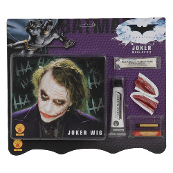 Deluxe Joker Wig / Makeup Accessory Kit (Adult) 100-149844