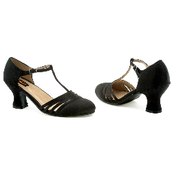 Lucille (Black) Adult Shoes 100-149345