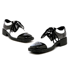Fred (Black/White) Adult Shoes 100-149736