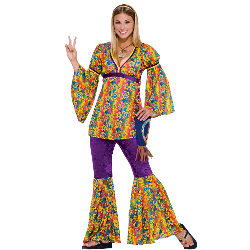 Purple Haze Hippie Adult Costume 100-152285