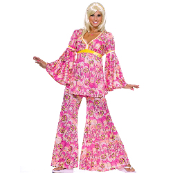 Flower Power Hippie Adult Costume 100-152290
