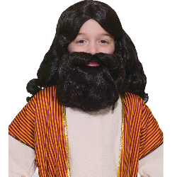 Biblical Wig and Beard Set Child 100-152375