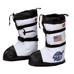 NASA Astronaut Child Boot Covers 100-153058
