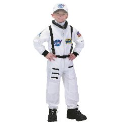 NASA Jr. Astronaut Suit White Toddler/Child Costume 100-153076