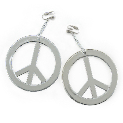 Peace Earrings 100-155272