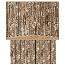 30' Barn Siding Backdrop 100-157139