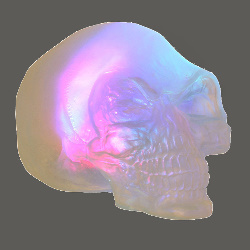 Indiana Jones - Color Changing Crystal Skull 100-155240