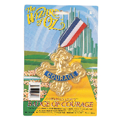 The Wizard of Oz Badge Of Courage 100-107930