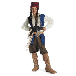 Pirates of the Caribbean - Jack Sparrow Child Costume 100-156235