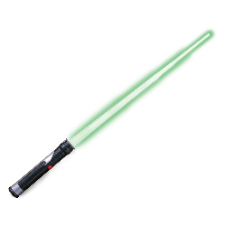 Star Wars Jedi Master Green Lightsaber 100-102596