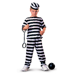 Jailbird Child Costume 100-104796