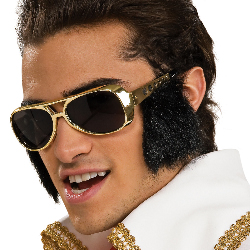 Elvis Glasses with Sideburns 100-180140