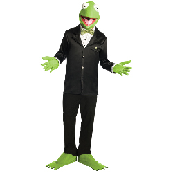 The Muppets Kermit Adult Costume 100-180162