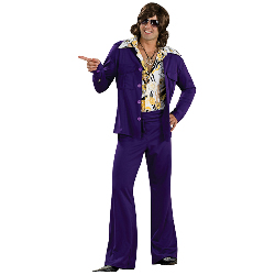 Leisure Suit Deluxe (Purple) Adult Costume 100-180209